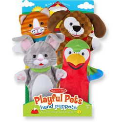4-pc. Playful Pets Hand Puppet Set