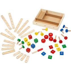 48-pc. Wood Construction Set