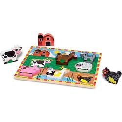 Chunky Puzzle Farm Animals
