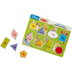 Melissa & Doug Disney Winnie The Pooh Shapes Sound Puzzle