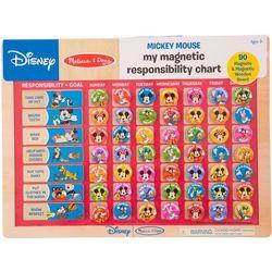 Disney Mickey Magnetic Responsibility Chart