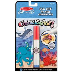 Sea Life Colorblast Coloring Pad Set