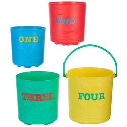 Seaside Sidekicks Nesting Pails Set