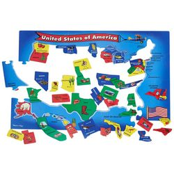 Melissa & Doug Map Floor Puzzle