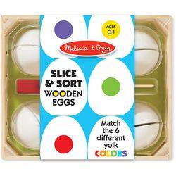 Slice & Sort Wooden Eggs