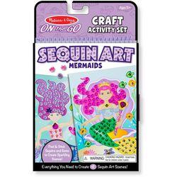 Mermaid Sequin Craft Activity Set