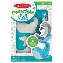 Created by Me! Sea Life Figurines Craft Kit