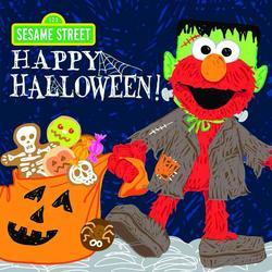 Sourcebook Sesame Street Happy Halloween Book