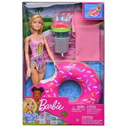 Barbie Doll & Pool Party Set