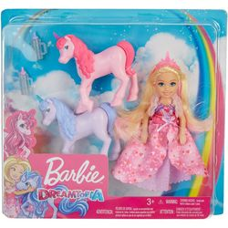 Dreamtopia Unicorns & Chelsea Doll Set