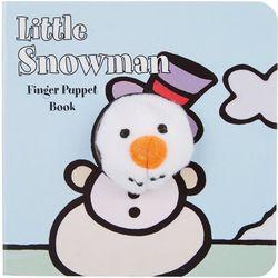 Chronicle Little Snowman Finger Puppet Book