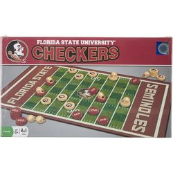 Florida State Checkers Board Game Set