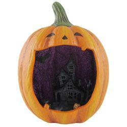 Brighten the Season Halloween Haunted House Pumpkin Decor