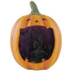 Halloween Haunted House Pumpkin Decor