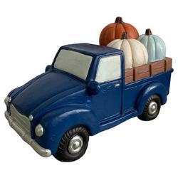 Truck & Pumpkin Tabletop Decor