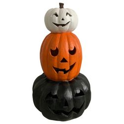 Brighten the Season 32'' Halloween Trio Stack Pumpkin