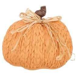 Braided Pumpkin Tabletop Accent
