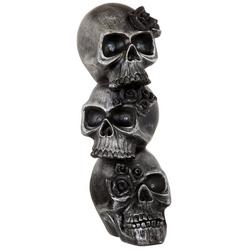 LED Stacked Skull Tabletop Decor