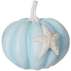 Brighten the Season Glitter Starfish Pumpkin Decor