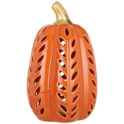 Pumpkin Pierced Luminary Tabletop Decor