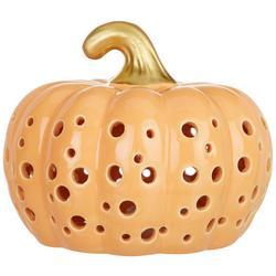 Harvest Pumpkin Luminary Tabletop Decor