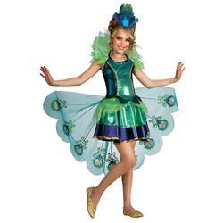 Girls Peacock Costume