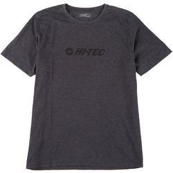 Hi-Tec Mens Short Sleeve Heather Bluff Head Tee