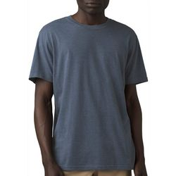 Prana Mens Solid Crew Neck Short Sleeve Shirt