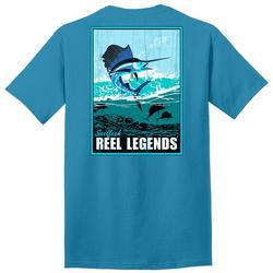 Mens Sailfish Graphic T-Shirt