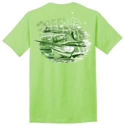 Mens Tonal Billfish Graphic T-Shirt