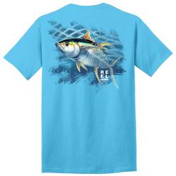 Mens Yellowfin Skeleton Graphic T-Shirt