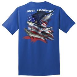Mens Patriot Salt Water T-Shirt