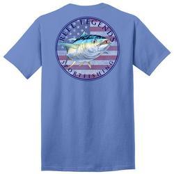 Mens Tuna Flag Graphic T-Shirt