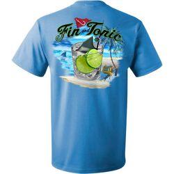 Reel Legends Mens Fin & Tonic Short Sleeve T-Shirt