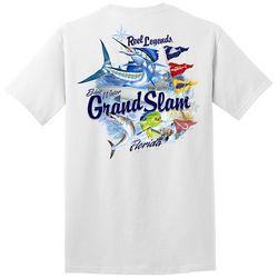 Reel Legends Mens Florida Grand Slam Graphic T-Shirt