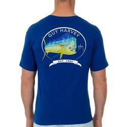 Guy Harvey Mens Core Mahi Graphic T-Shirt