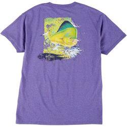 Guy Harvey Mens Mahi Screen Print Short Sleeve T-Shirt