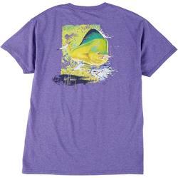 Mens Mahi Screen Print Short Sleeve T-Shirt