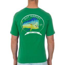 Guy Harvey Mens Core Mahi T-Shirt