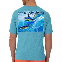 Guy Harvey Mens Offshore Haul Tuna Short Sleeve T-Shirt
