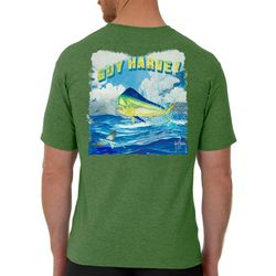 Guy Harvey Mens Mahi Jump Short Sleeve T-Shirt