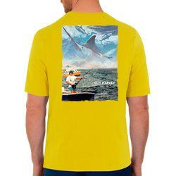 Guy Harvey Mens Fishing Short Sleeve T-Shirt