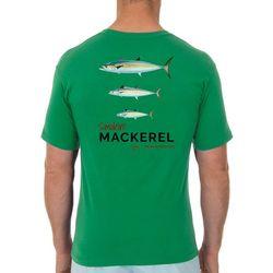 Guy Harvey Mens Smokin Mackerel Short Sleeve T-Shirt