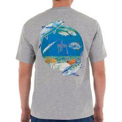 Guy Harvey Mens Bonefish Catch Short Sleeve T-Shirt
