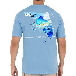 Guy Harvey Mens Florida Mahi Short Sleeve T-Shirt