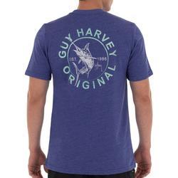 Mens Circle Marlin Short Sleeve T-Shirt