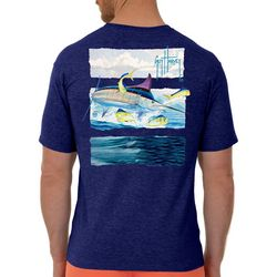 Guy Harvey Mens Marlin Stripes Short Sleeve T-Shirt