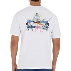 Mens  Fishing Day T-Shirt