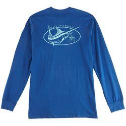 Guy Harvey Mens Apex Long Sleeve T-Shirt