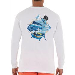 Mens Grand Slam Long Sleeve T-Shirt